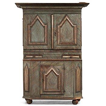 3. A Swedish cupboard from region of Dalarna 18th Century.