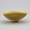 Berndt friberg, a stoneware bowl, gustavsberg studio.