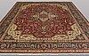 A carpet, tabriz, 398 x 308 cm.