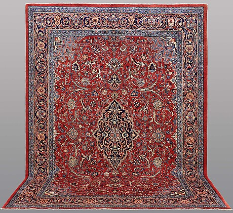 A carpet, sarouk, ca 360 x 257 cm.