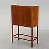 A mahogany cabinet, designed by e. pontoppidan, executed by n. roth andersen, denmark, 1998. numbered no. 10.