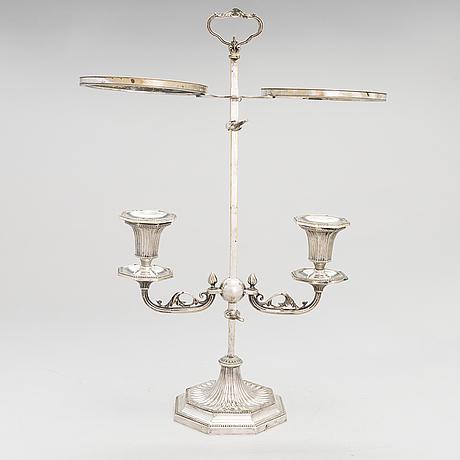 Bouillottelamppu, george iii -tyyli, 1800-luvun loppu.