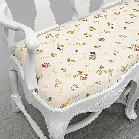A rococo style sofa, first half of the 20th century.