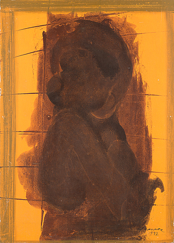 Olavi haarala, oil on canvas, signed and dated -72.