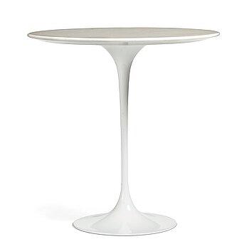 """5. Eero Saarinen, a """"Tulip"""" table for Knoll International, 1960-70's."""