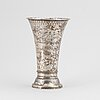 A silver vase, k anderson, stockholm, 1908.