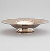 A sterling silver bowl, just andersen, denmark.