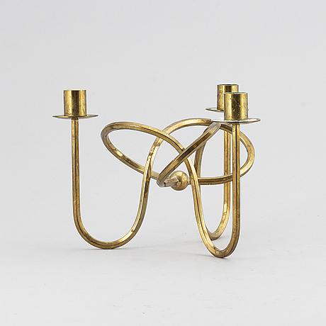 Josef frank, a 'friendship knot' candelabra, firma svenskt tenn.