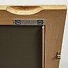 Yngvar sandstrÖm, a four-piece oak bookcase, triva, nordiska kompaniet 1962.
