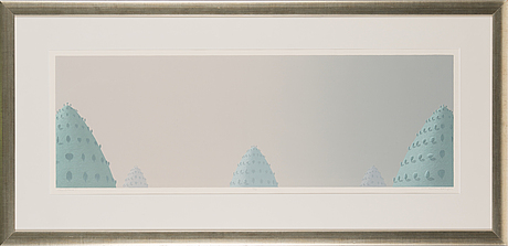 Kristian krokfors, lithograph, signed and dated 2005, numbered 16/40.