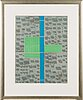 Kristian krokfors, lithograph, signed and dated -92, numbered 47/50.