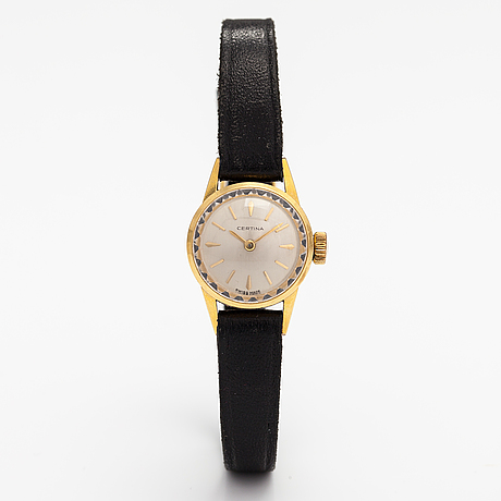 Certina, wristwatch, 19 mm.