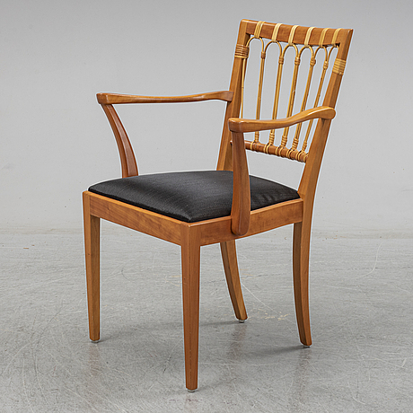 Josef frank, a model 1165 chair, svenskt tenn, sweden.