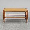 "Josef frank, a bench, model ""b2009"", firma svenskt tenn, sweden."
