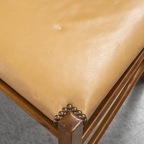 Josef frank, two dining chairs, model 2027, svenskt tenn, sweden.