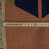 A carpet, an oriental kilim, ca 256,5-257,5 x 184-185 cm.
