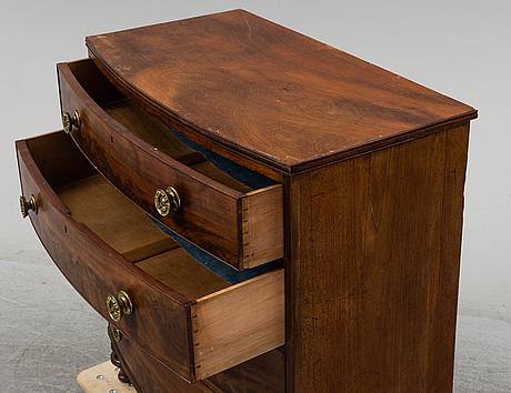 Byrå, william iv, 1800-talets första hälft.