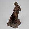 Carl milles, sculpture, bronze, signed.