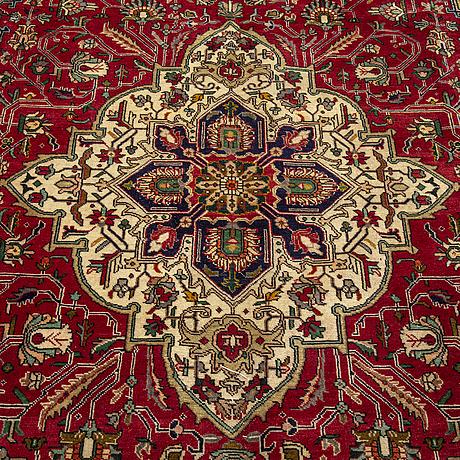 A carpet, tabriz, ca 345 x 240 cm.