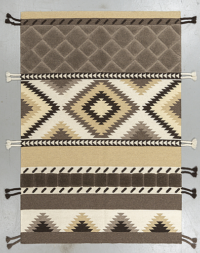 A rug, morocco design ca 230 x 160 cm.