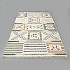 A rug, flat weave,  ca 266 x 152 cm.