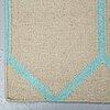 A carpet, flat weave, ca 244 x 151 cm.