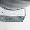 Taru syrjÄnen, a vase signed taru syrjänen 1999 nuutajärvi.