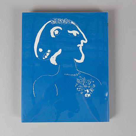 Marc chagall book, lithographe iv,  charles sorlier/fernand mourlot, Éditions andré sauret.