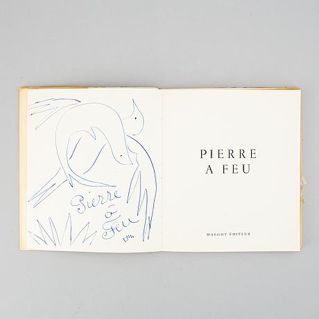 """Henri matisse, book, """"pierre a feu"""", 1947."""