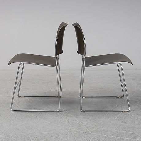 "David rowland, ""40/4"", 8 chairs., howe a/s, 1960-70's."