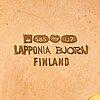 "Björn weckström, a 14k gold necklace ""semiramis"" with tourmalines. lapponia 1973."