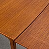 A second half of the 20th century teak dining table.
