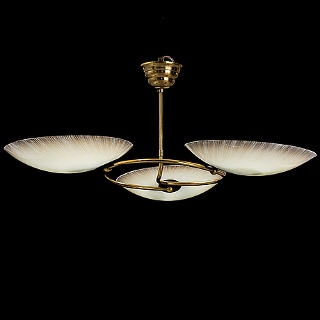 A 1950's ceiling light.