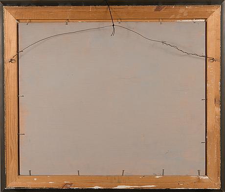 John rafael ekelund, oil on board, signed and dated-32.