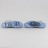 """Christian dior, sneakers, """"dior x air jordan 1 low"""", us size 9, 2020, limited edition."""