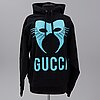 "Gucci, ""manifesto hoodie"", fall winter 2019, size s (man)."