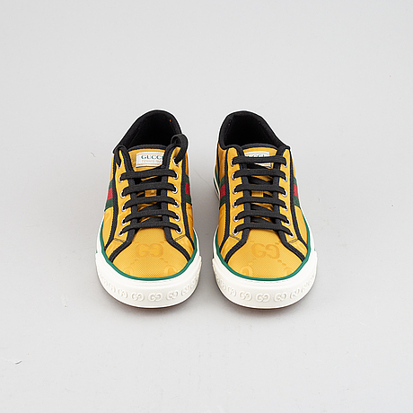 "Gucci, ""off the grid gg-jacquard sneakers"", size 7."