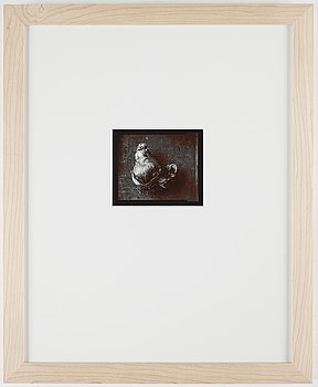 Olivia Parker, photograph signed ed. 7 on verso.