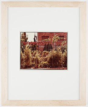 Richard Pare, photograph signed on verso.