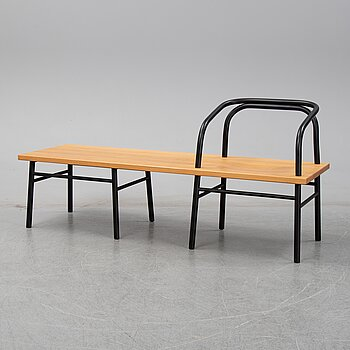 "Sam Hecht, a ""Table, bench, chair"", Established & Sons, 2009."