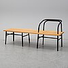 """Sam hecht, a """"table, bench, chair"""", established & sons, 2009."""