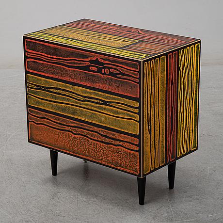"Sebastian wrong & richard woods, ""wrongwood solo drawerer cabinet"", established & sons, 2007."