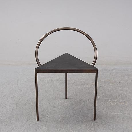 """Per holland bastrup & frama, """"triangolo"""", stol, första upplagan, denmark 1989/2018."""