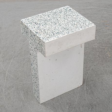 """A unique frama, """"t-table"""", terazzo table, denmark 2019."""