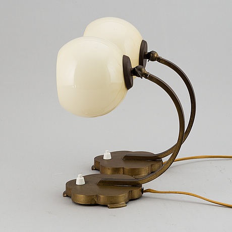 A pair off 1920-/30's table lamps,
