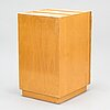 Alvar aalto, mid-20th-century drawer unit and two l-legs for artek.