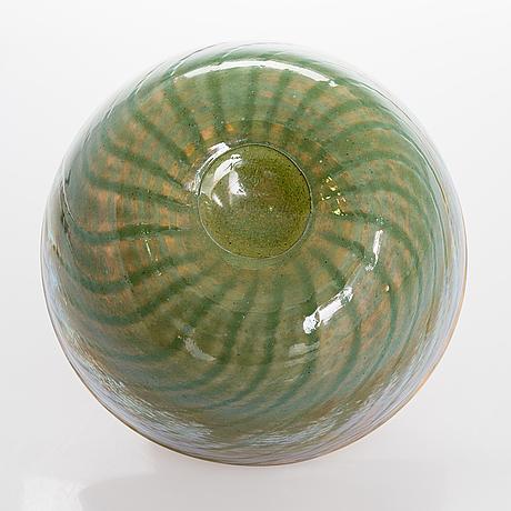 Oiva toikka, a bowl. pro arte-series. signed stockmann 125, oiva toikka nuutajärvi notsjö, 88/100.