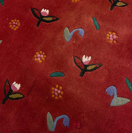 "Matto, "" summer dream ii"" kasthall, gunilla lagerhem-ullberg, ca 299 x 196  cm."