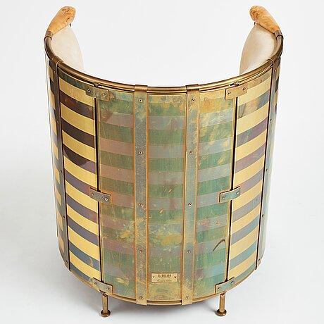 "Mats theselius, an ""el dorado"" easy chair for källemo, sweden, post 2002."