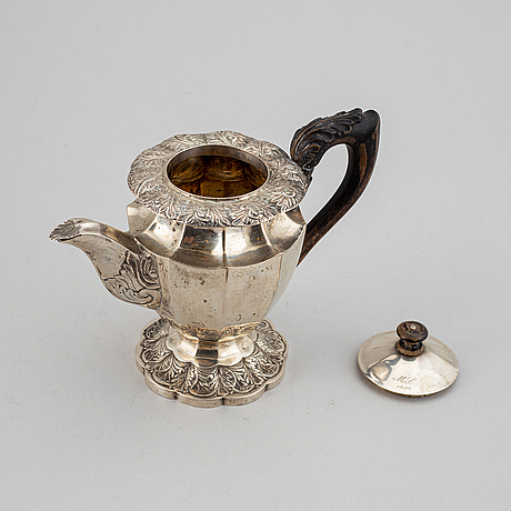 Tekanna, silver.